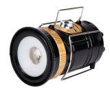 2018 Escudo Popular Solar Linterna LED recargable Linterna de camping con cable de carga