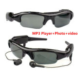 DV MP3 Sonnenbrille-Form-Fotographien-video im Freiensport-Minikamera Eyewear