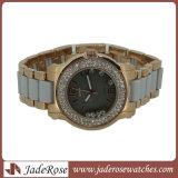 Armbanduhr-einfache Luxuxmarken-Quarz-Uhr-wasserdichte Form-Kursteilnehmer-Uhr