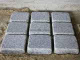 Getuimelde Lichte Grijze Cobble van het Graniet G603/G654 voor de Bestrating van de Weg