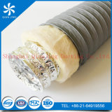 Flexible de conduite isolé en aluminium aluminium gaine souple Flexible isolé avec une grande flexibilit pour facile