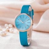 OEM ODM Correa de piel Moda Mujer Regalo Classic Watch (Wy-126A)