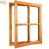 최고 가격 간단한 알루미늄 프레임 디자인 두 배 유리제 여닫이 창 Windows