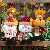 Santa Claus Boneco Elk Style Doll Árvore de Natal decoração suspensas