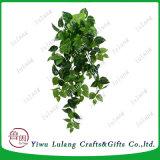 El verde hiedra Planta artificial guirnalda de hojas de plástico de la vid vid de las Plantas de follaje falsos