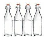 Schwingen-Spitzenflaschen groß für Getränke, Öl, Essig 33 3/4 Unze