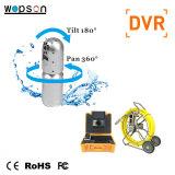 Macchina fotografica del CCTV della vaschetta e di inclinazione PTZ dell'asta di spinta per il sistema di ispezione del tubo per fognatura