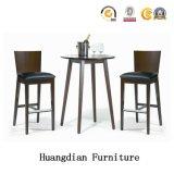 Club de gros de meubles en bois massif des jambes et tabouret de bar Table Set (HD718)
