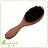 Brosse à cheveux de poils de sanglier de bois -028