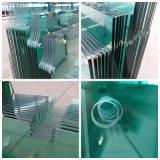 Flat/decorativos de vidrio templado curvo templado para la construcción, Muebles, Puertas de ducha