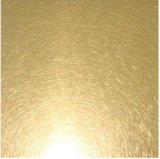 Lamiera/lamierino di titanio di titanio dell'oro dell'acciaio inossidabile/Gold-Ti/di colore