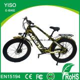 Graisse haute puissance Mountian vélo électrique avec 750W 48V/13Ah