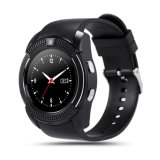 La electrónica de consumo más recientes accesorios de telefonía móvil GSM Bluetooth Smart Watch V8