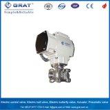 Dn15 DC24V 4-20mA ajustáveis elétricos da Válvula de Controle de Pressão da Água