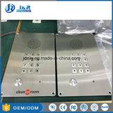 Analogique interphone de l'élévateur, IP65-IP66. Chambre propre téléphone pour l'usine de produits pharmaceutiques