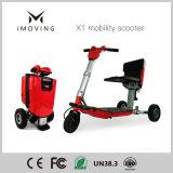Autoped, de Slimme Vouwende 3 Wiel Gehandicapte Autoped van de Mobiliteit