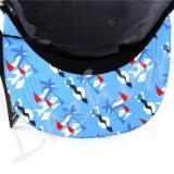(LSN15048)急な回復のウールのフェルトが付いている平らな縁のFifttedの帽子