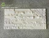 機能壁のためのハイエンド3D Polish+Splitの白い石灰岩の棚の石