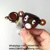 Mono de Dibujos Animados Animales Adaptador de recipientes de cristal para fumar los tubos de agua