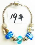 Armband Ref van de Charme DIY van de Vrouwen van de manier de Echte Zilveren Geplateerde Met de hand gemaakte: P 019