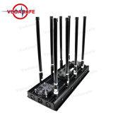 모든 이동 전화 4G/3G/2g/WiFi2.4G/CDMA450MHz를 위해, 이동 전화 움직이지 않게 하는, 이동 전화 4G/3G/2g /WiFi2.4G 방해기 Wi Fi/Bluetooth