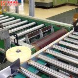 Entraîné par chaîne de convoyeur à rouleaux motorisés de l'alimentation en acier pour la vente