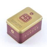 Venta caliente Medical Tin Box Contenedor de pastillas de metal mayorista
