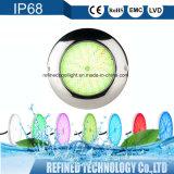 Rempli de résine de haute qualité sous-marin à LED IP68 monté en surface la lumière de la piscine