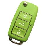 Рч 3 кнопки беспроводной регулируемый радиочастотного пульта дистанционного управления с Duplicator Flip ключ