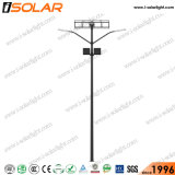 Isolar Soncap Certified doble lámpara de luz solar calle