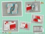 La fabbrica standard delle attrezzature mediche di brevetto di invenzione della Cina produce la precisione del grado medico 0.2 termometri infrarossi della fronte