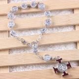 Legering St Benedict Beads Catholic Rosaries Bracelet met Kruis (io-CB196)