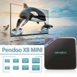 Kleiner Android 7.1 Fernsehapparat-Kasten Pendoo X8 Mini