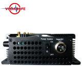 Emittente di disturbo di UHF/VHF (edizione fredda estrema), emittente di disturbo/stampo del segnale di WiFi GPS del telefono delle cellule con l'antenna 6,