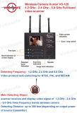 RFのシグナルの探知器の無線カメラ1.2GHz-2.4GHz-5.8GHz完全なバンドビデオスキャンナー、無線カメラのハンター、スパイのカメラの探知器