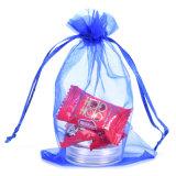 昇進の習慣によって印刷される結婚祝いのオーガンザのドローストリングの袋(COB-1116)