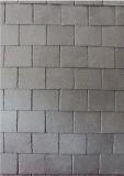 De grijze Tegels die van het Dak van de Lei van Salte van het Dakwerk Tegels behandelen