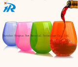 4ozプラスチックStemless白ワインのコップ