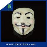 Maschera di protezione all'ingrosso di forma di v della mascherina di festa di travestimento dei rifornimenti del PVC Halloween