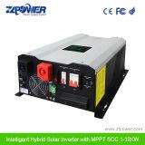 Intelligent 12V 220V de onda senoidal pura Inversor de 3000W 5000W inversor cargador híbrido