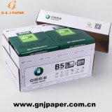 Papier non couché de pâte de bois blanc A4 du papier copie utilisé sur l'imprimante