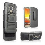 2018 Doppelschicht Kickstand Riemen-Klipp-Pistolenhalfter-kombiniertes Patent-Mobile/Handy-Fall für Spiel Motorola-G6