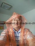На заводе Xiantao производитель PE распоряжении Плащ Rainwear Poncho Плащ