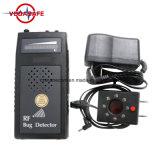 Audio spazzatrice dell'errore di programma del rivelatore rf con il rivelatore superiore dell'errore di programma di GSM GPS WiFi del telefono della macchina fotografica del segnale di sensibilità rf dell'audio visualizzazione