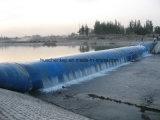 Запруда воды и воды электричества резиновый