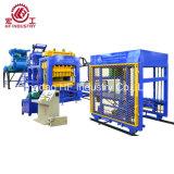Qt hidráulica máquina de fabricación de ladrillos de concreto máquina bloquera10-15