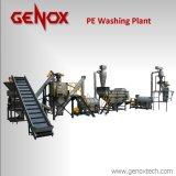 Reciclagem de garrafas de plástico do Sistema de máquinas de lavar roupa para Pet/PE/PP/PVC