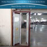 Puerta de aluminio profesional exportador con TUV en el sitio de auditoría