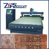 Ranurador del CNC de la carpintería del huso de Hsd de la alta calidad