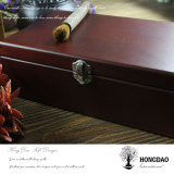 Presente de madeira Box_D do vintage por atacado de Hongdao